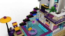 Toys''R''Us présente LEGO® Friends - Nouveautés 2016 - La maison de la Pop Star Livi - 41135