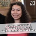 Pluie d 'insultes sur la jeune fille choisie pour incarner Jeanne d'Arc à Orléans
