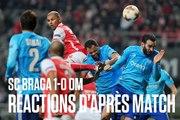 SC Braga - OM (1-0) | Les réactions d'après-match