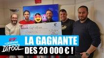 Difool a offert un chèque de 20 000€ ! #MorningDeDifool