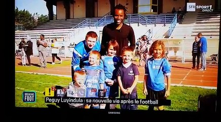 Reportage AS Gien Football sur SFR SPORT1