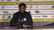 Avant le match - Serge Gakpé -  ASC - Fc Nantes