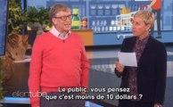Quand Bill Gates joue au Juste Prix, c'est pas si simple !
