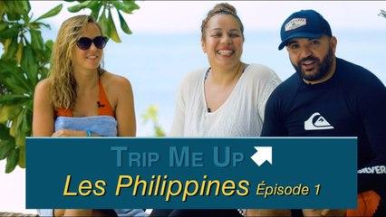 Les Amoureux Voyageurs (Salim & Linda) et Enora Malagré aux Philippines