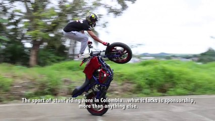 The Struggle Of Stunt Riders In Colombia