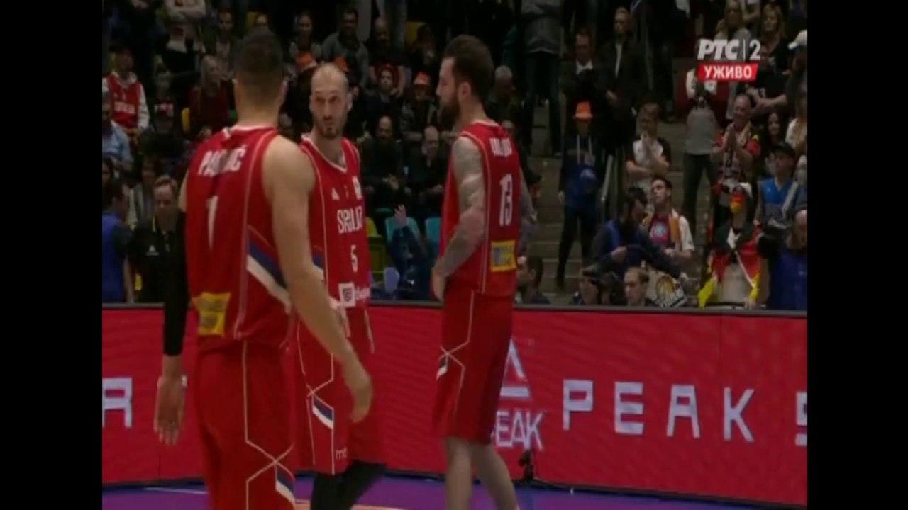 Germany Serbia 7974 Fiba Basketball World Cup 2019 European Qualifiers