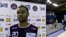 Vincent Bello arrière droit d'Istres Provence Handball