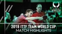 2018 Team World Cup Highlights I Paul Drinkhall/Samuel Walker vs Koki Niwa/Jin Ueda (Group)