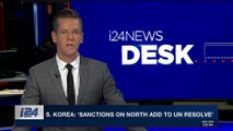 i24NEWS DESK | S. Korea: 'sanctions on North on add to UN resolve'  | Saturday, February 24th 2018