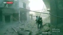 Doğu Guta'da katliam devam ediyor: 15 ölü