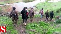 Afrin�in güneybatısındaki Ebu Kabe ve Hacılar köyleri teröristlerden tem