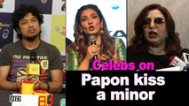 Celebs REACT over Papon kissing minor