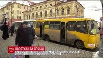 У Чернівцях учасника АТО висадили з маршрутки: ветерани провчили водія.