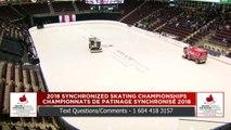 Novice Free 1 : 2018 Skate Canada Synchronized Skating Championships (4)