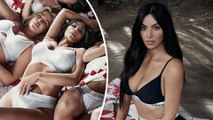 'She looks like an alien': Kardashian fans slam Calvin Klein for photoshop fail as they say Kim looks like a 'totally different person' in new campaign.