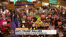 Thousands in anti-Trump protests across US