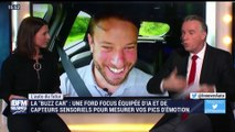 """L'auto du futur:  """"Buzz car"""", une Ford Focus équipée d'IA et de capteurs sensoriels pour mesurer vos pics d'émotion - 24/02"""
