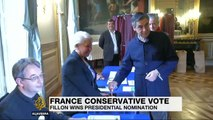 France's Francois Fillon wins conservative primary