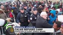 France: Dismantling of 'Jungle' refugee camp under way