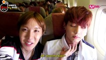 [Sub Español] AHL - Cut Unreleased 1.1 Excited Bangtan Boys who are inside the airplane that_s headed towards America