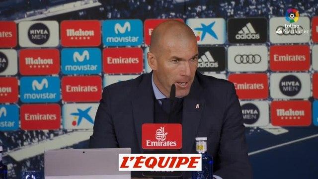 Zidane «Benzema a toujours démontré qu'il avait du caractère» - Foot - ESP - Real