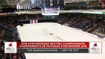 Junior Free : 2018 Skate Canada Synchronized Skating Championships (8)
