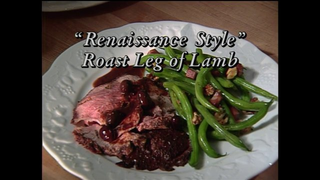 Renaissance Style Roast Leg of Lamb with Lynne Rossetto Kasper (In Julia's Kitchen with Master Chefs)