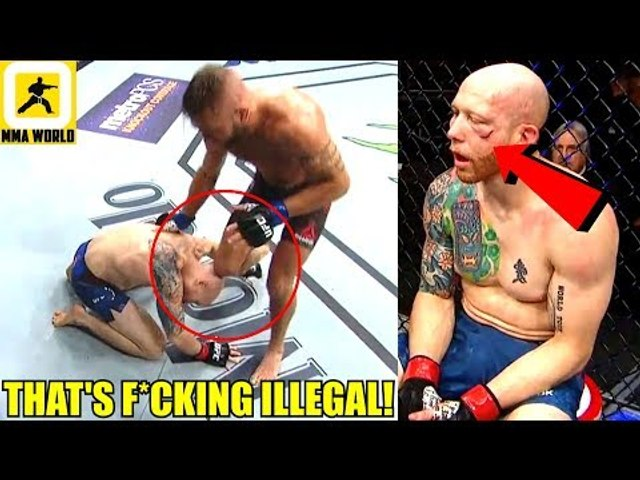 MMA Community Reacts the Illegal Knee in Jeremy Stephens vs Josh Emmett,UFC on FOX 28 Results