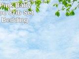 Elephant Chevron Zig Zag Gray  Pink Baby Bedding  5pc Crib Set by Sofia Bedding