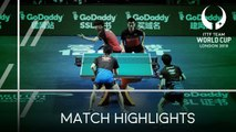 2018 Team World Cup Highlights I Koki Niwa/Jin Ueda vs Lee Sangsu/Jeoung Youngsik (1/2)