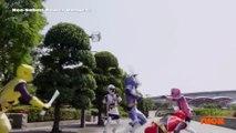 Power Rangers Super Ninja Steel - Power Rangers vs Evil Blue Ranger