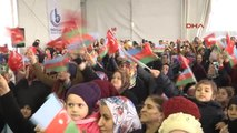 Dha İstanbul- Bağcılar'da Azerbaycan Dostluk Parkı ve Hocalı Katliamı Anıtı Açıldı...