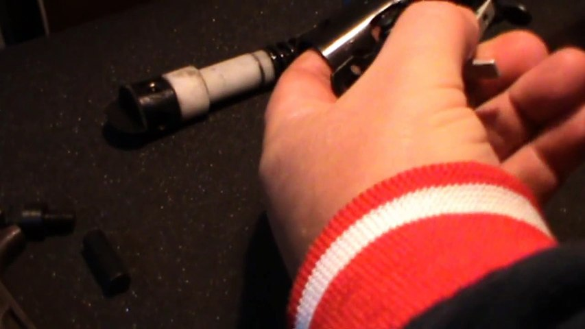 How to put a B19 trigger block back in the tube