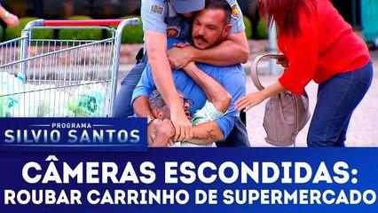 Câmeras Escondidas: Roubar Carrinho de Supermercado - 25.02.18