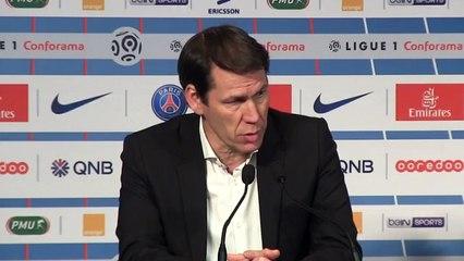 La conférence de presse de Rudi Garcia après la défaite face au PSG (3-0)