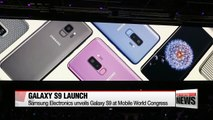 Samsung Electronics unveils Galaxy S9 at Mobile World Congress