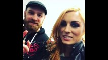 WWE Snapchat_IG ft Braun Strowman, Sami Zayn, Iconic Duo, Becky Lynch n MORE (Pre Royal Rumble)