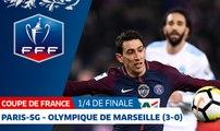 Coupe de France, quarts de finale : Paris-SG-Olympique de Marseille (3-0), le résumé
