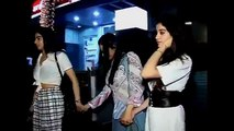 sridevi Spotted with her daughters and step daughter (Boney & Mona Kapoor's Daughter)