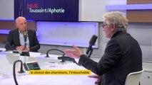 """#SNCF """"Est-ce que c'est le statut qui est à l'origine des 46 milliards de déficits de la SNCF ?"""" demande Jean-Claude Mailly (FO) qui constate un """"sous-investissement chronique"""""""