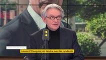 #Wauquiez   Il n'est pas piégé, il sait ce qu'il fait  Tout ce qu'il a dit, je pense quil la dit volontairement estime Jean-Claude Mailly (FO)