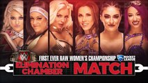 Elimination Chamber: Women's Elimination Chamber Video Package