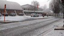 Waremme: il neige