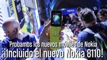 Nokia en el MWC 2018: ¡Vuelve el Nokia 8110... ahora con 4G!