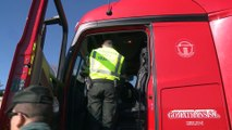 DGT impulsa control a autobuses y camiones para evitar accidentes