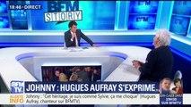 """Johnny vous avait-il dit qu'il déshériterait ses enfants? """"Jamais"""", répond Hugues Auffray"""
