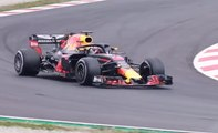 VÍDEO: Daniel Ricciardo pilota el Red Bull F1 por primera vez