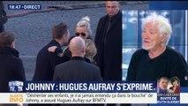 BFMTV : Hugues Aufray appelle Laeticia, David et Laura à faire la paix