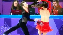 Winter Olympic 2018 _ South Korean Figure Skater Suffers Wardrobe Malfunction as her Red Costume