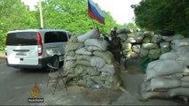 Civilians trapped as Ukraine clashes escalate
